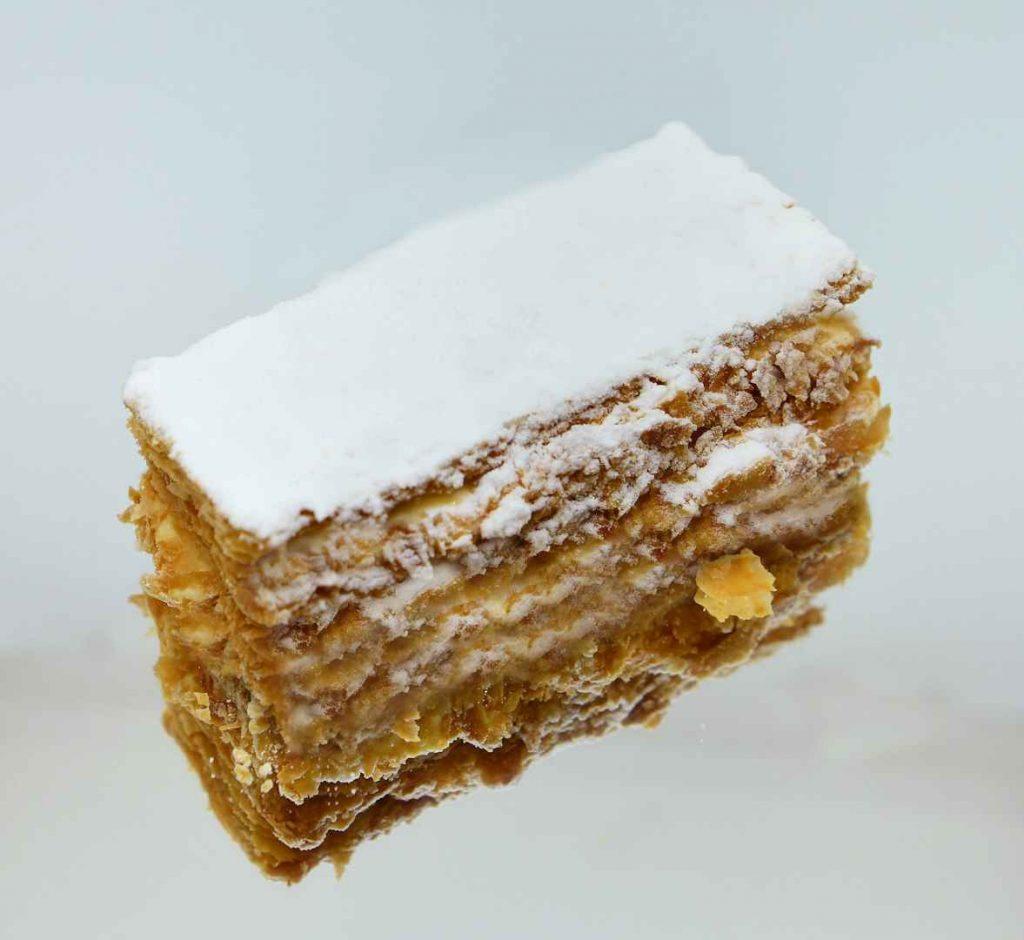 Millefeuille με στέβια | OH! La Low γλυκά με στέβια χωρίς ζάχαρη στη Γλυφάδα