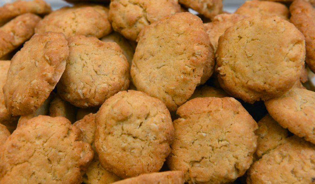 Μπισκότα χωρίς ζάχαρη με βρώμη | Oh! La Low γλυκά χωρίς ζάχαρη