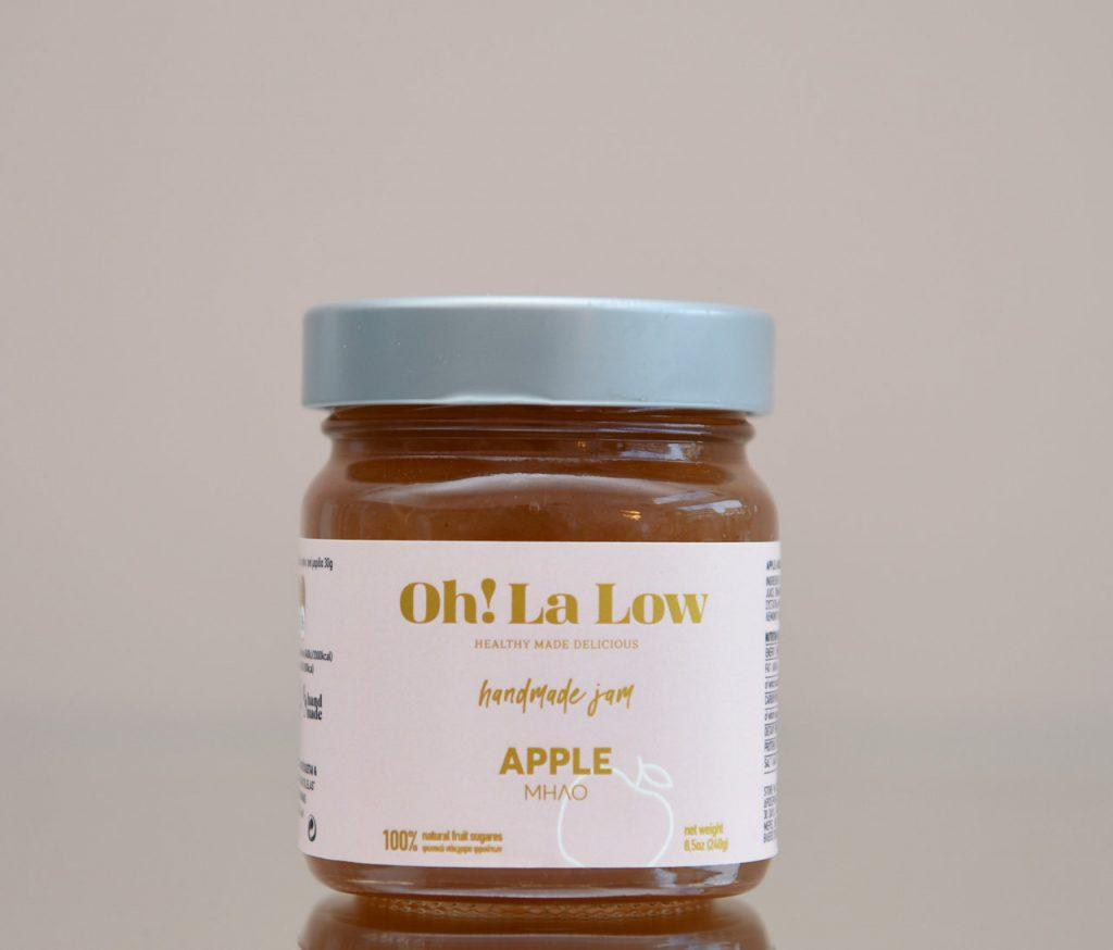 Μαρμελάδα μήλο   Oh! La Low γλυκά χωρίς ζάχαρη