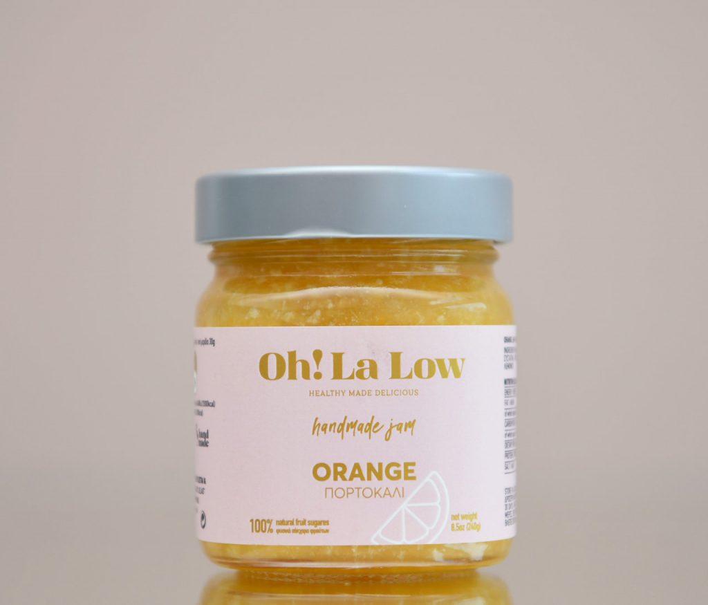 Μαρμελάδα πορτοκάλι | Oh! La Low γλυκά χωρίς ζάχαρη