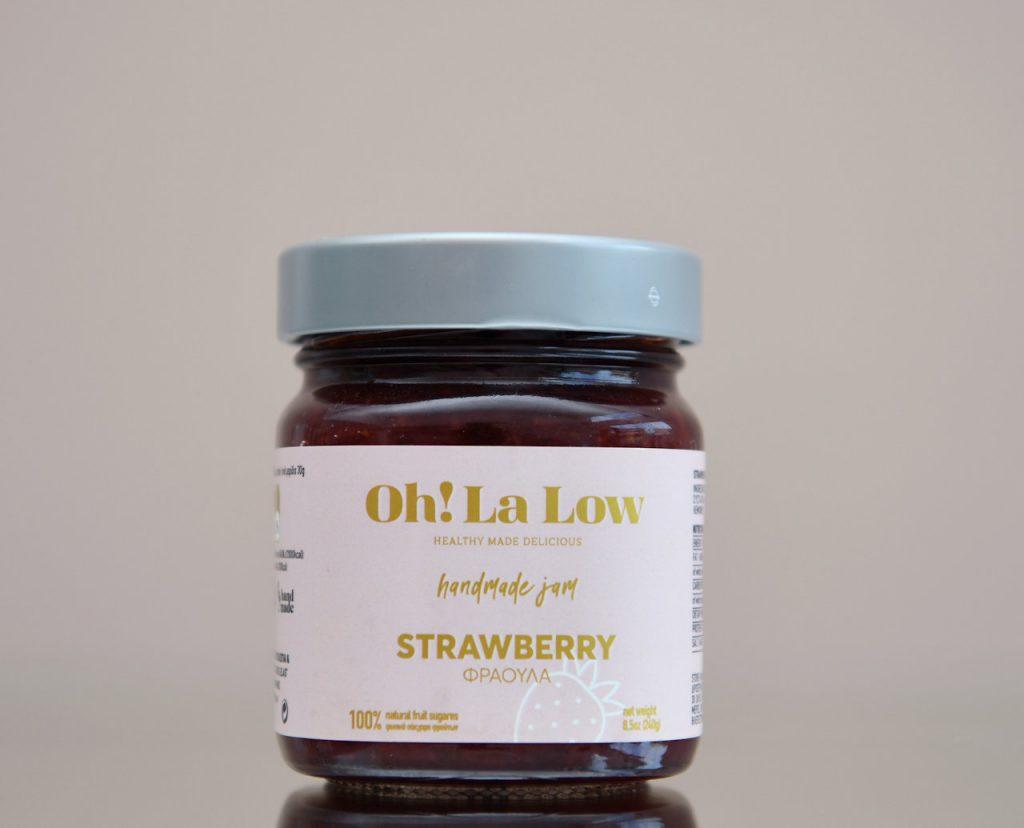 Μαρμελάδα φράουλο | Oh! La Low γλυκά χωρίς ζάχαρη