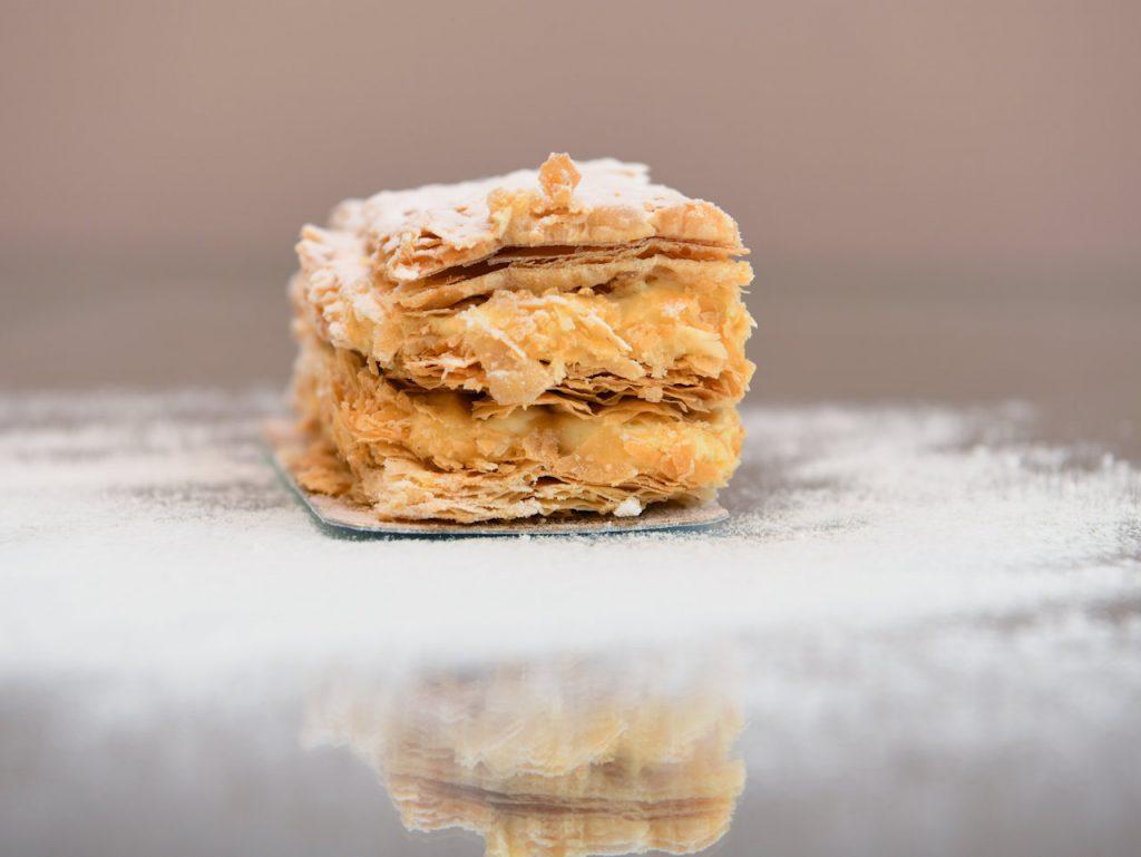 Mini millefuillex Γλυκά με στέβια | OH! La Low γλυκά με στέβια χωρίς ζάχαρη στη Γλυφάδα